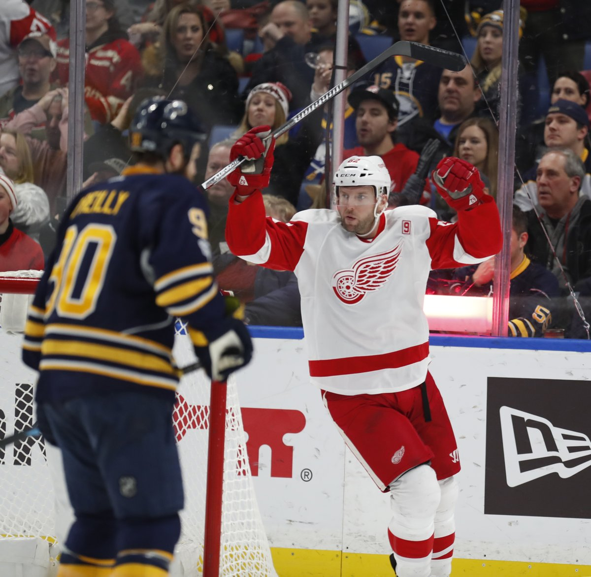 Sabres Notebook: Vanek finds his niche with Red Wings