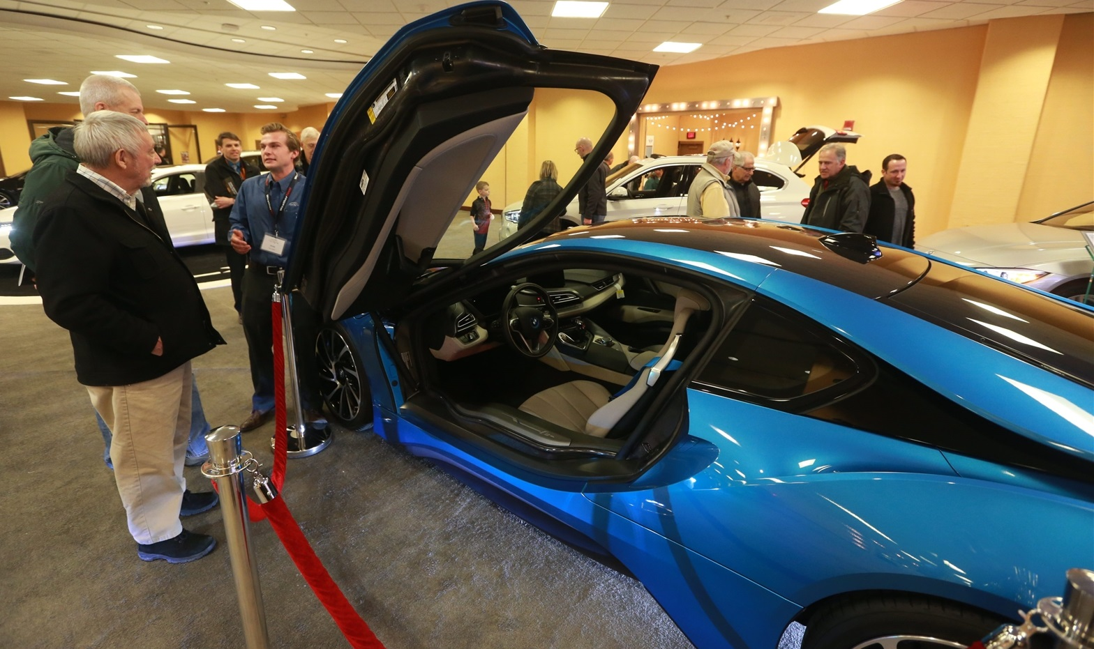 The BMW i8 was one of the new releases in 2016. (John Hickey/Buffalo News file photo)