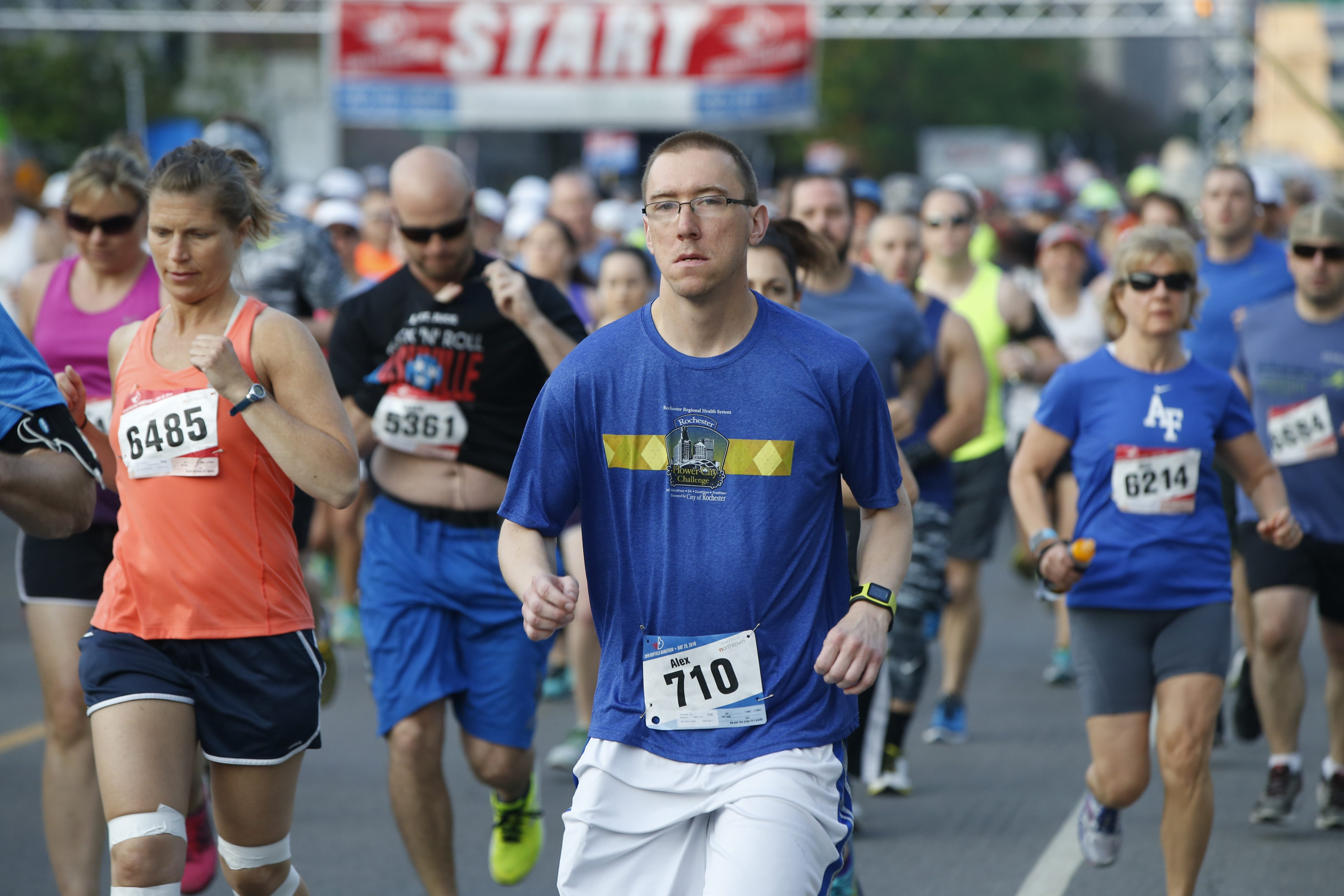 Plannning is already well underway for the next edition of the Buffalo Marathon. (Harry Scull Jr./Buffalo News)