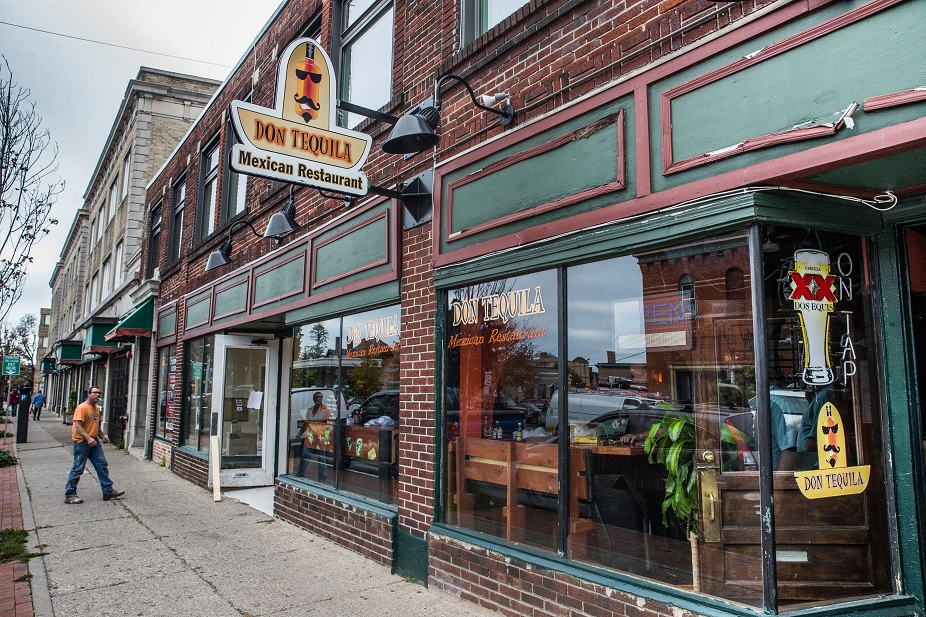Don Tequila restaurant on Allen Street. (Derek Gee/Buffalo News file photo)