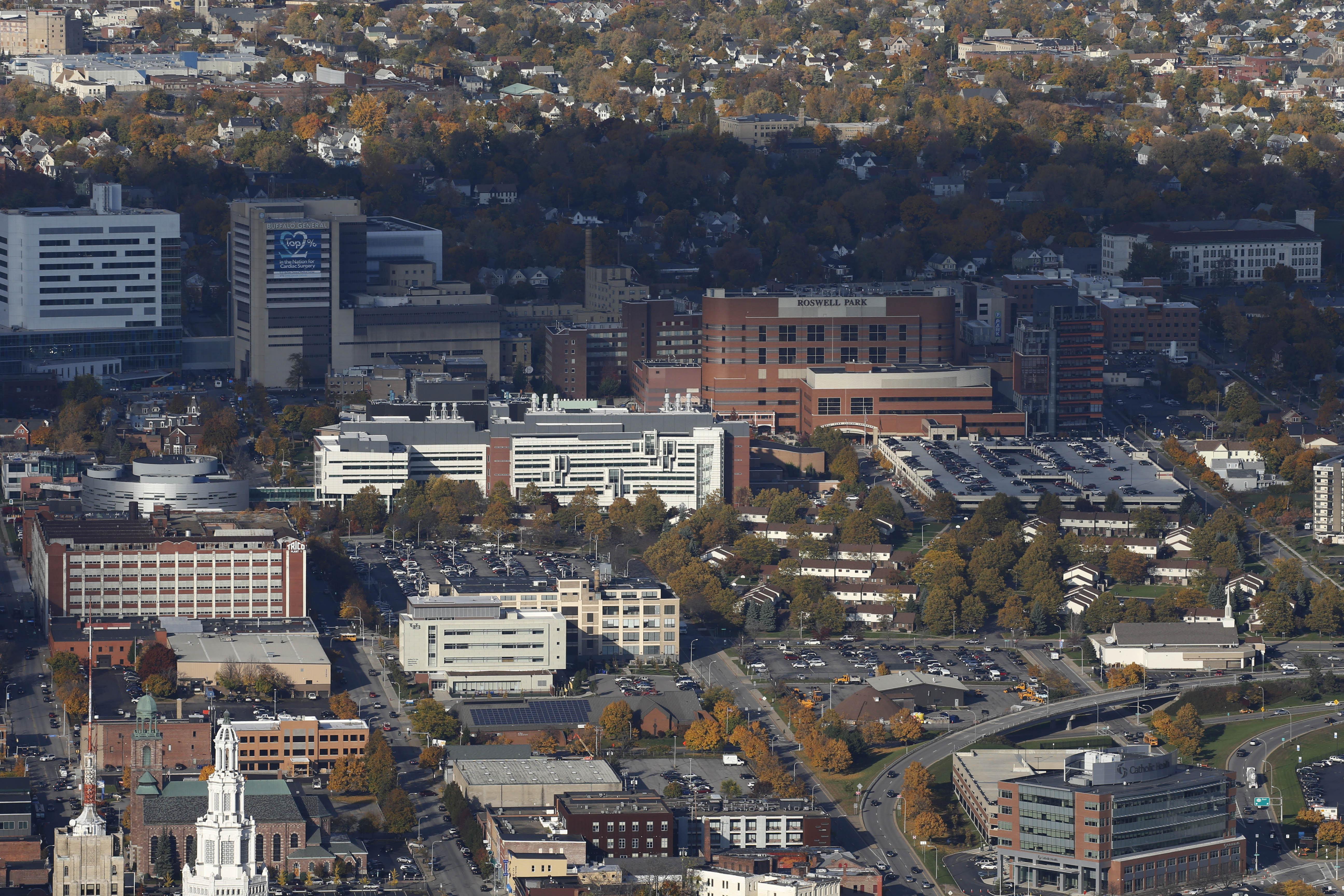 The 120-acre Buffalo Niagara Medical Campus.  (Derek Gee/Buffalo News )file photo)