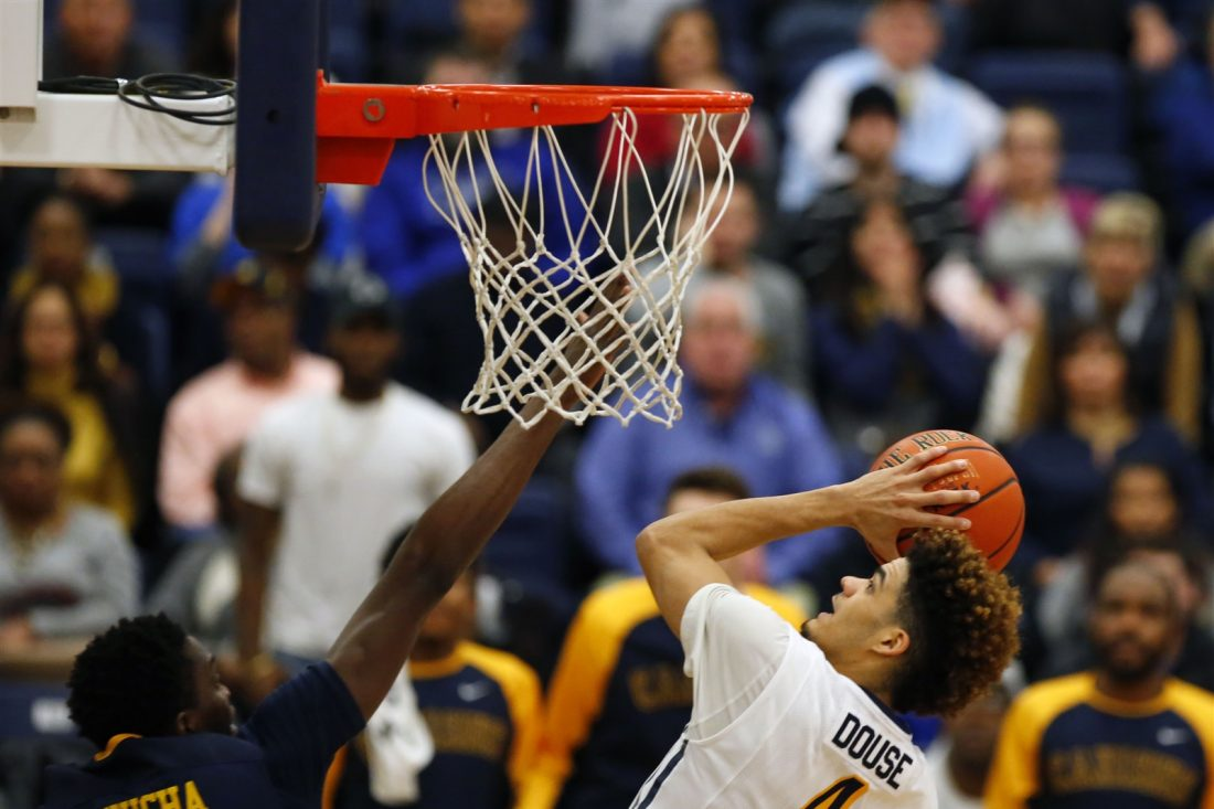 Canisius' Kiefer Douse goes up for a bucket (Harry Scull Jr./Buffalo News)