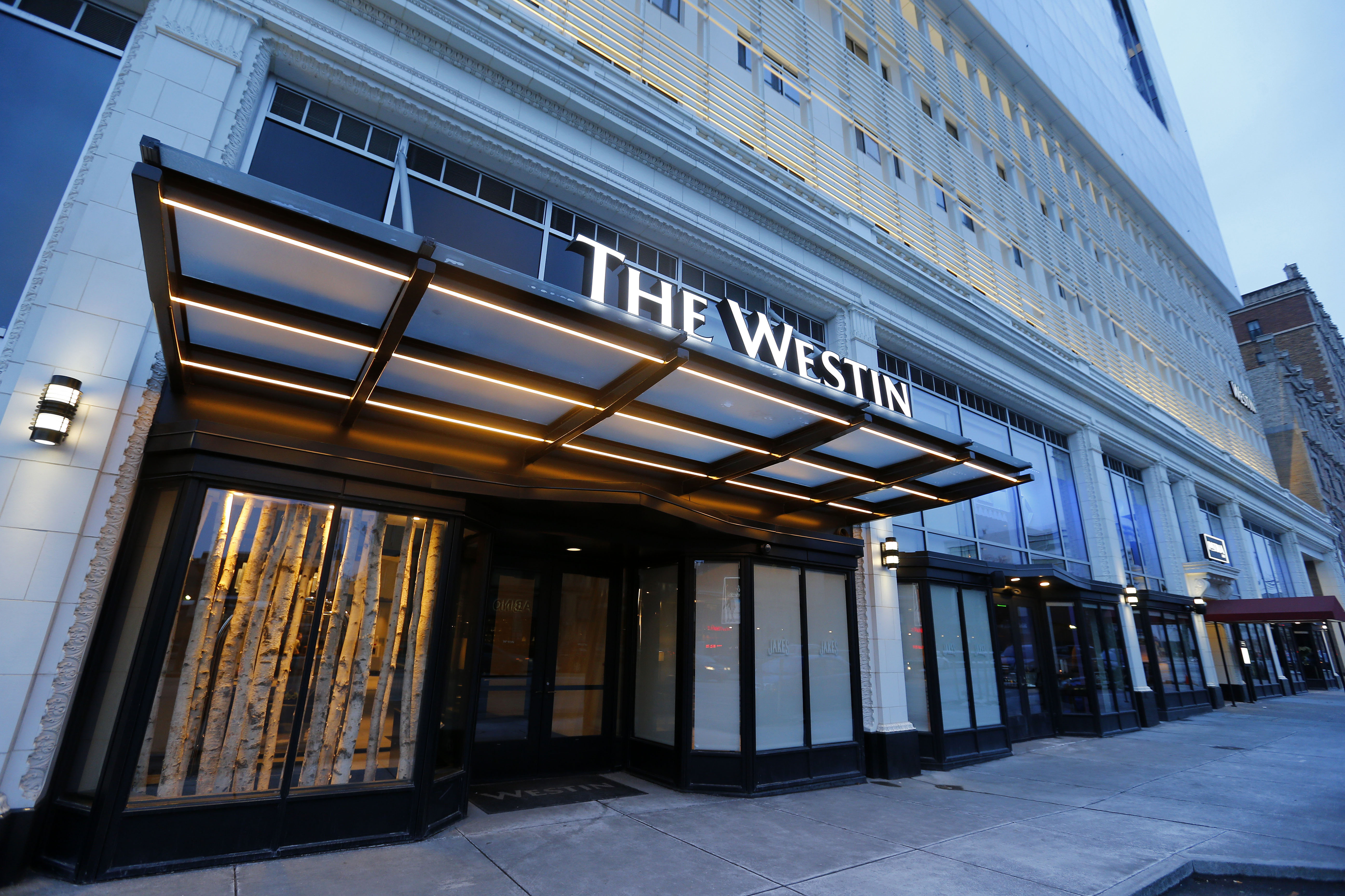 The Westin hotel on Delaware in Buffalo is among a wave of new hotels. (Mark Mulville/Buffalo News)