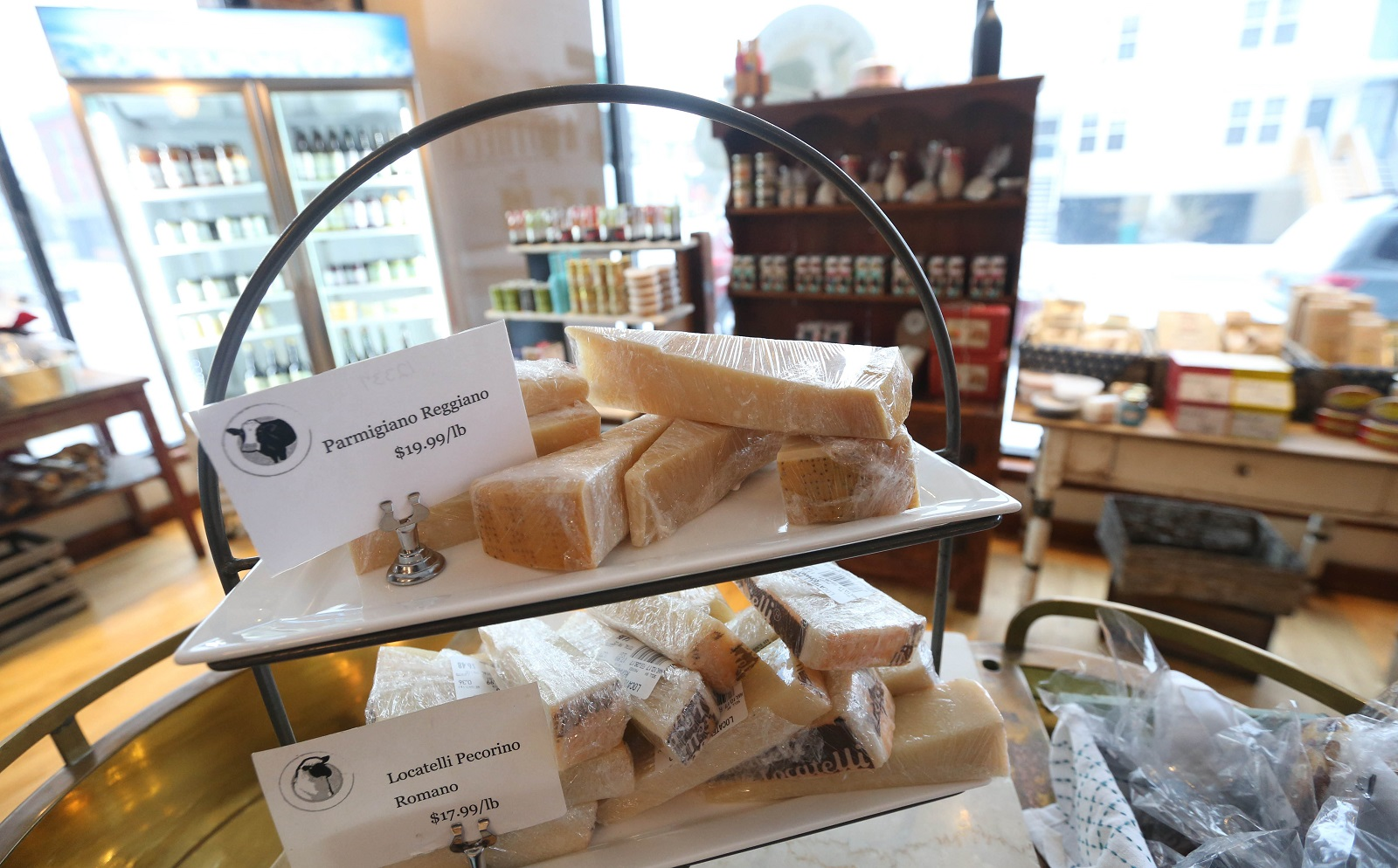 Nickel City Cheese & Mercantile and sister business Lait Cru Brasserie are located in the Horsefeathers building at 346 Connecticut Ave. (Sharon Cantillon/Buffalo News)