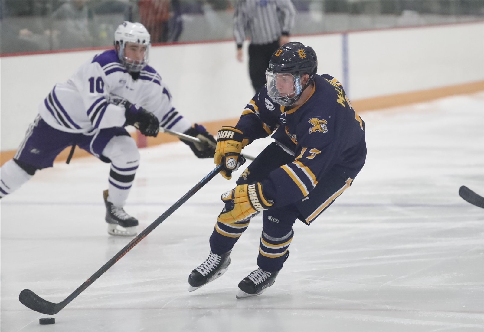Dylan McLaughlin notched his 100th point for Canisius. (Harry Scull Jr./Buffalo News File Photo)