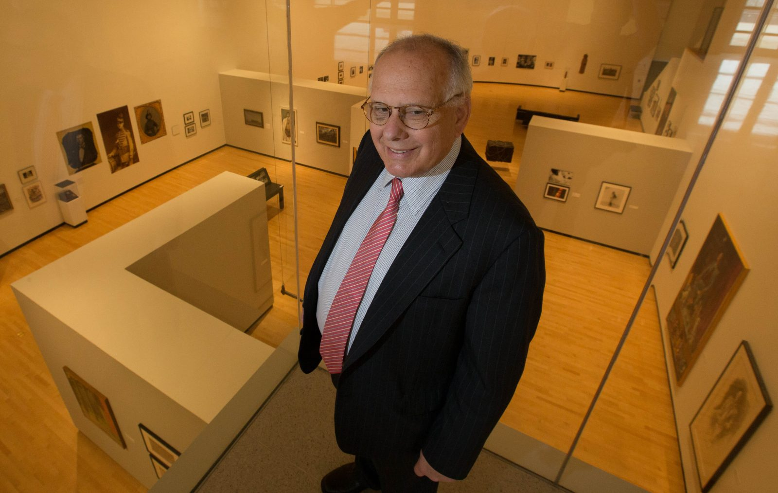 Anthony Bannon led the Burchfield Penney Art Center from 1985 to 1996 and 2012 to 2017.  (Derek Gee/Buffalo News)
