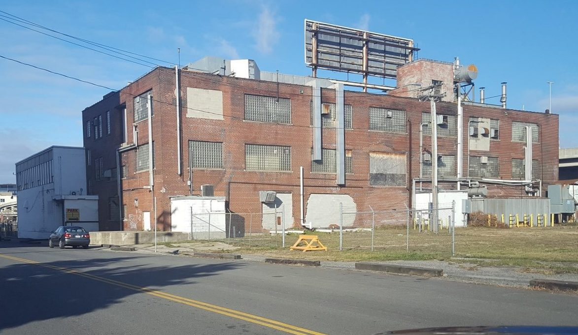A former Upstate Milk plant will become a 500-seat German restaurant and brewery. (Photo: David G. Miller)