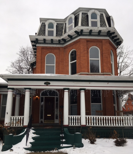 The owners of Oscar's Bed & Breakfast, at 288 Linwood Ave., Buffalo, say they are at a disadvantage in competing with Airbnb, whose hosts face less government oversight.
