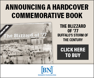 The Buffalo News is proud to present this hardcover pictorial book to commemorate the Buffalo Blizzard of '77, and the indomitable spirit of our friends and neighbors who live here. This heirloom-quality coffee-table book documents the storm's worst and our community's best.