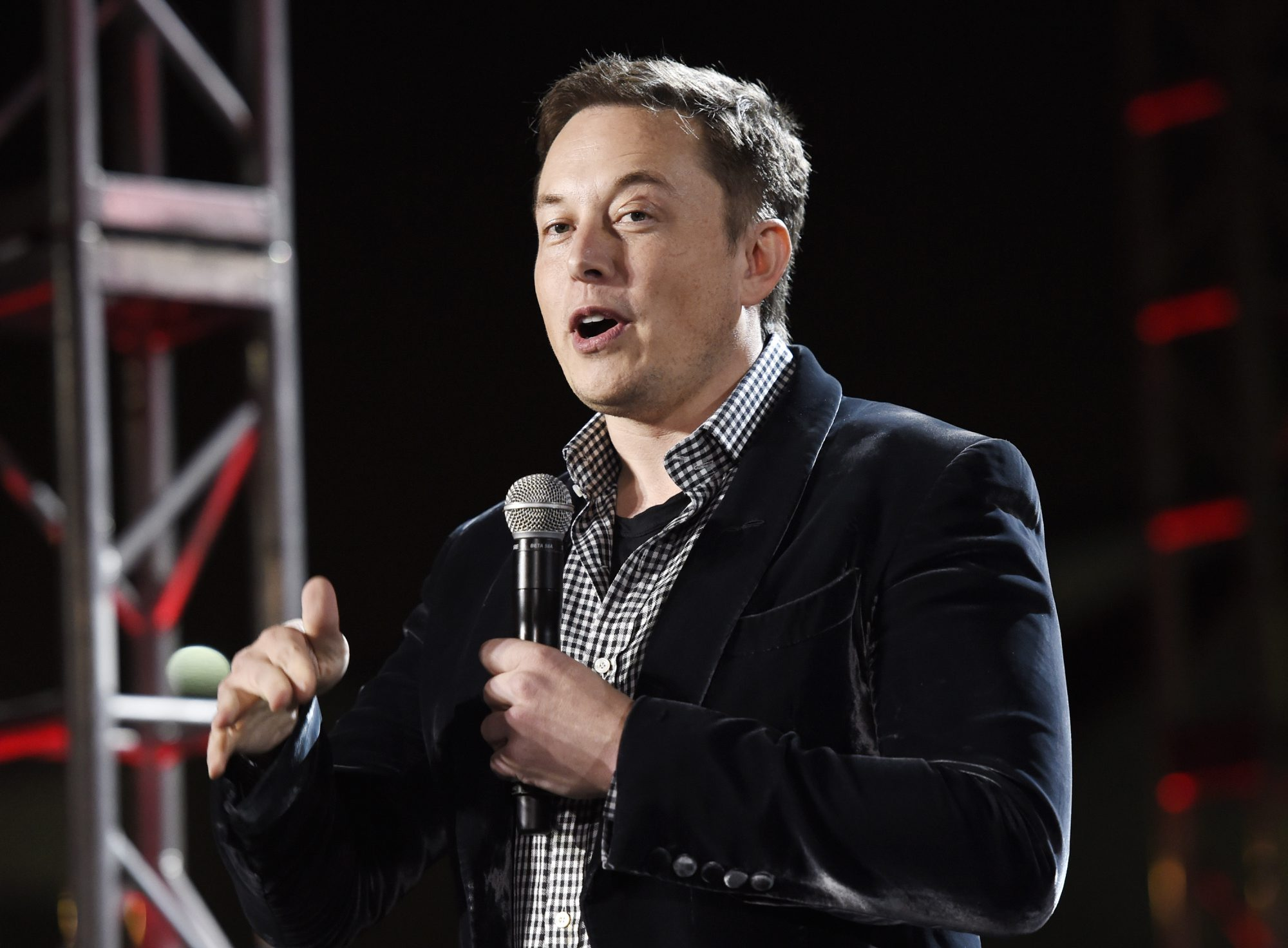Tesla's Elon Musk is resigning as chairman of the Tesla board, but will remain as CEO. (Getty Images)