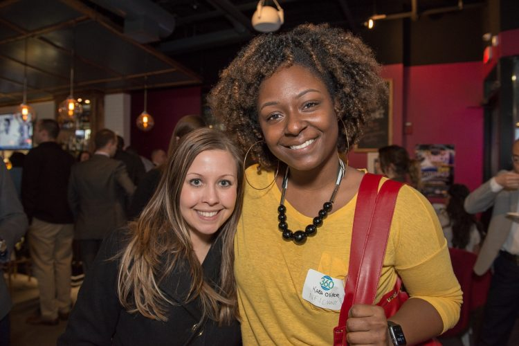 Smiles at BN360 Happy Hour for a Cause