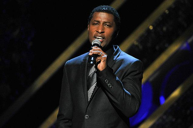 Kenny 'Babyface' Edmunds performed at the Seneca Niagara Events Center.