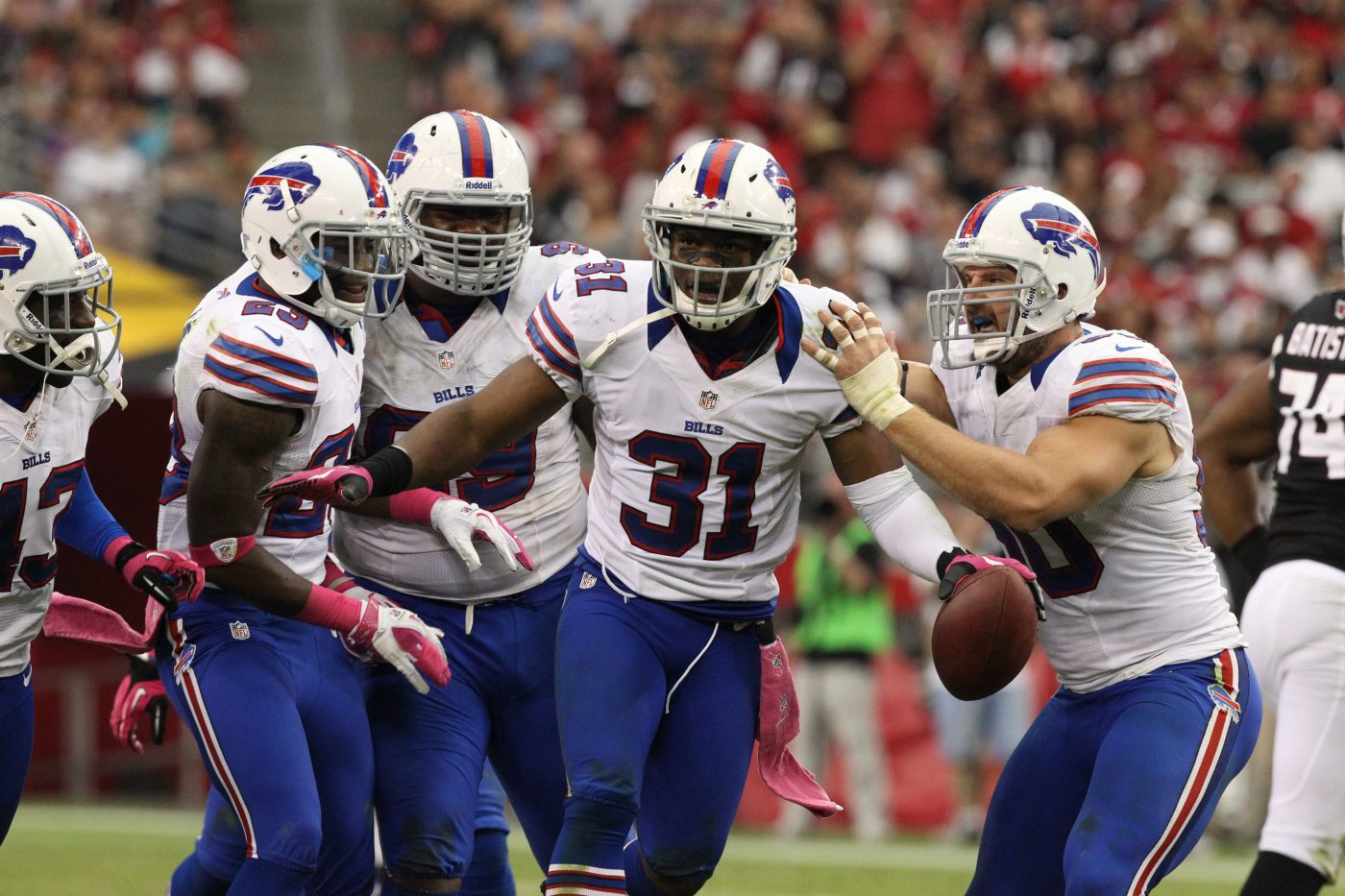 Former Bills safety Jairus Byrd became a free agent when the New Orleans Saints decided to release him. (Buffalo News file photo)