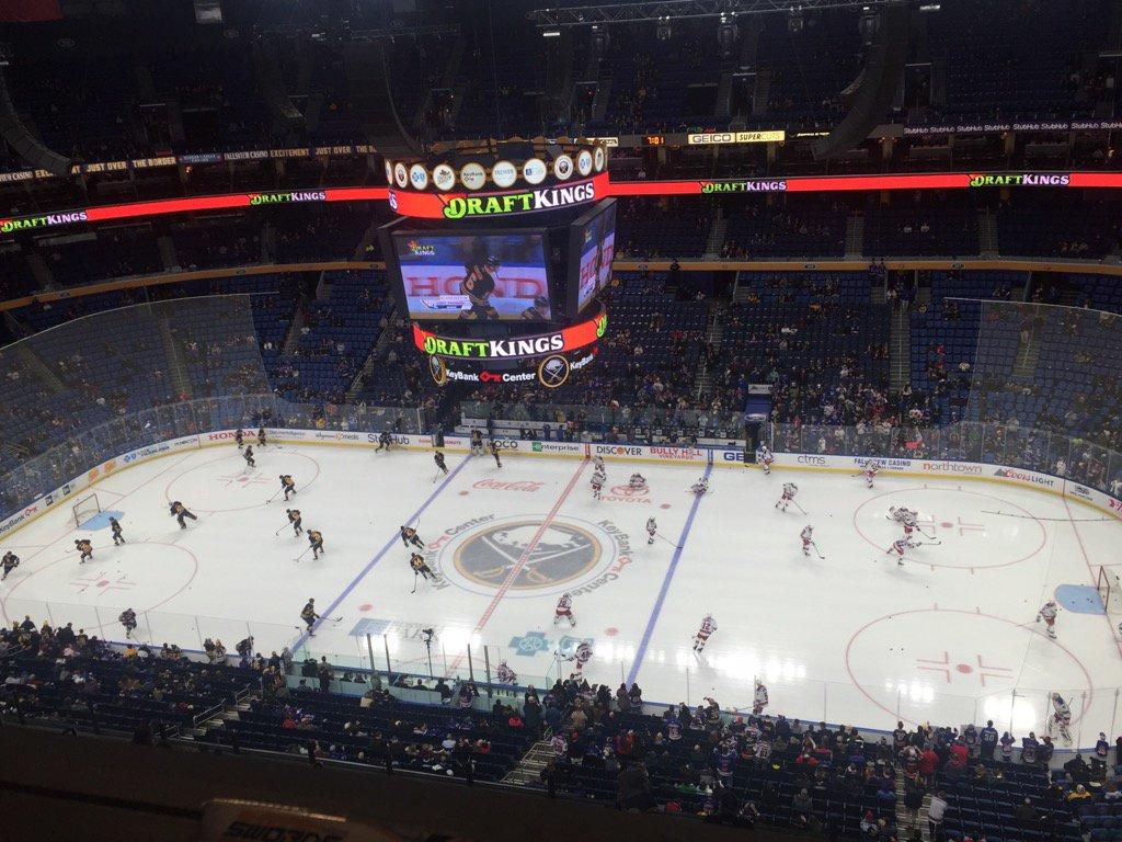 The Buffalo Sabres host the New York Rangers at KeyBank Center. (Mike Harrington/Buffalo News)