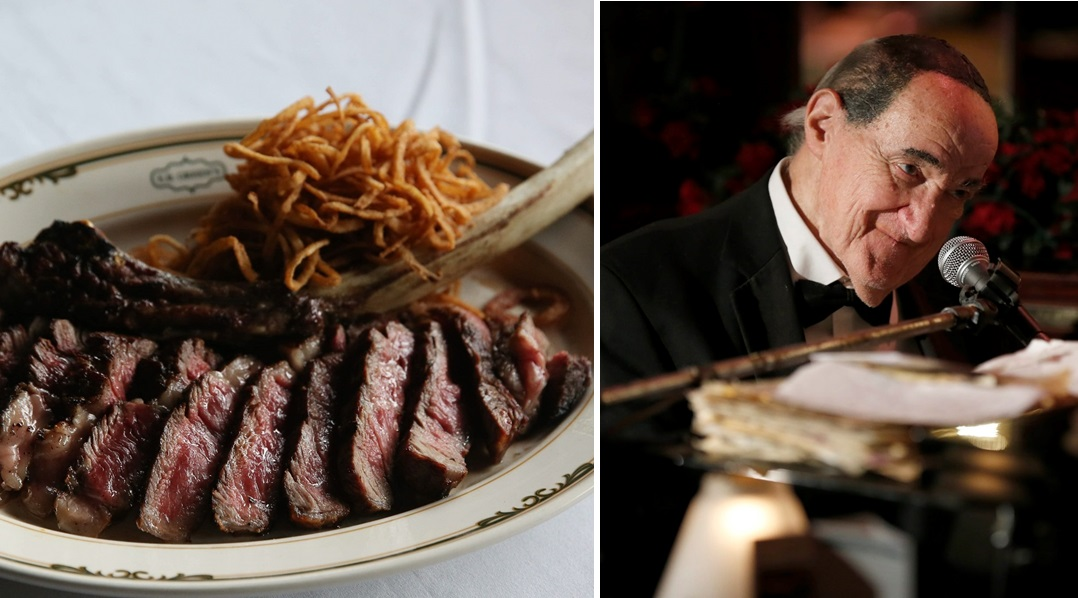 Known for its steak and the piano playing of Jackie Jocko, reminisce at E.B. Green's impact out of the Hyatt Regency through the years. (Buffalo News file photos)