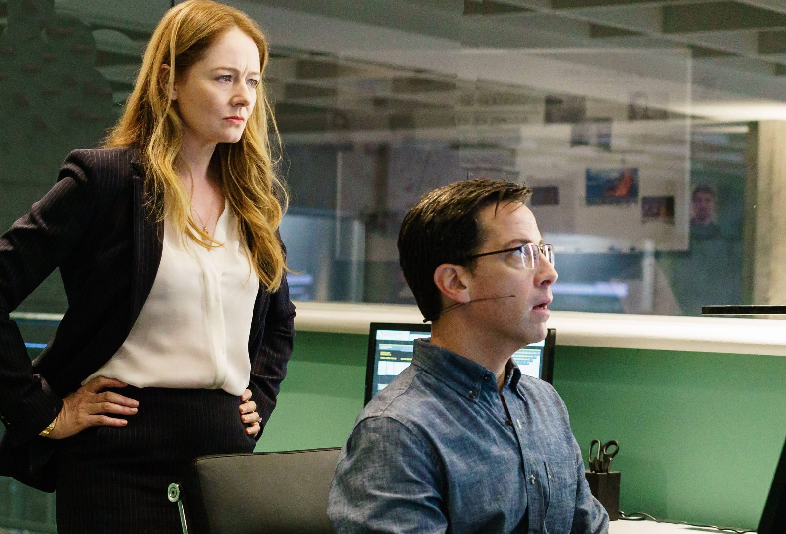 Miranda Otto (left) and Dan Bucatinsky costar in Fox's reboot of the '24' premise in '24: Legacy' premiering Sunday after the Super Bowl.  (Fox)