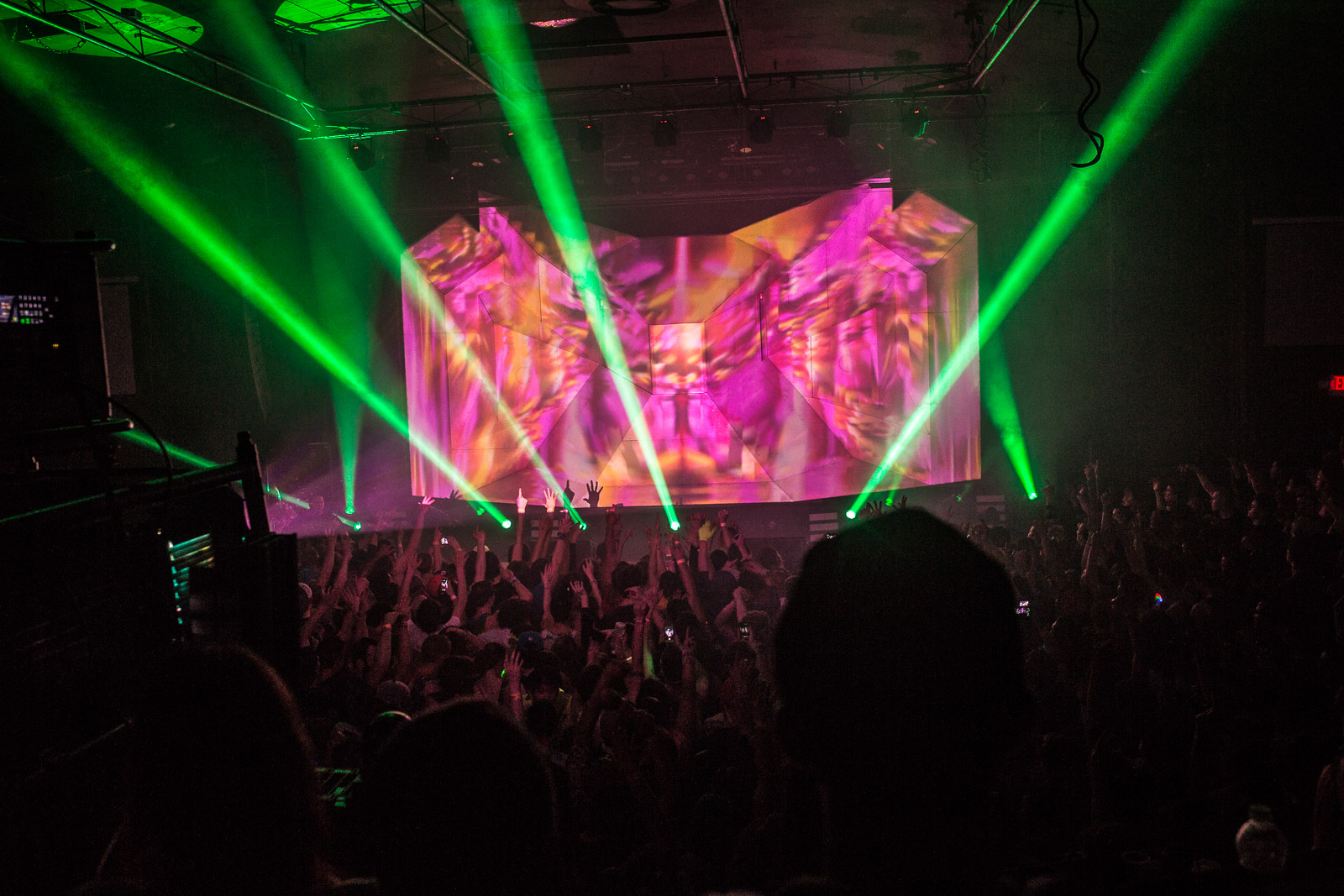 Excision performs in Town Ballroom in 2015. (Chuck Alaimo/Special to The News)