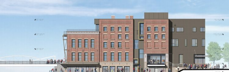 Explore & More rendering of new Canalside museum.