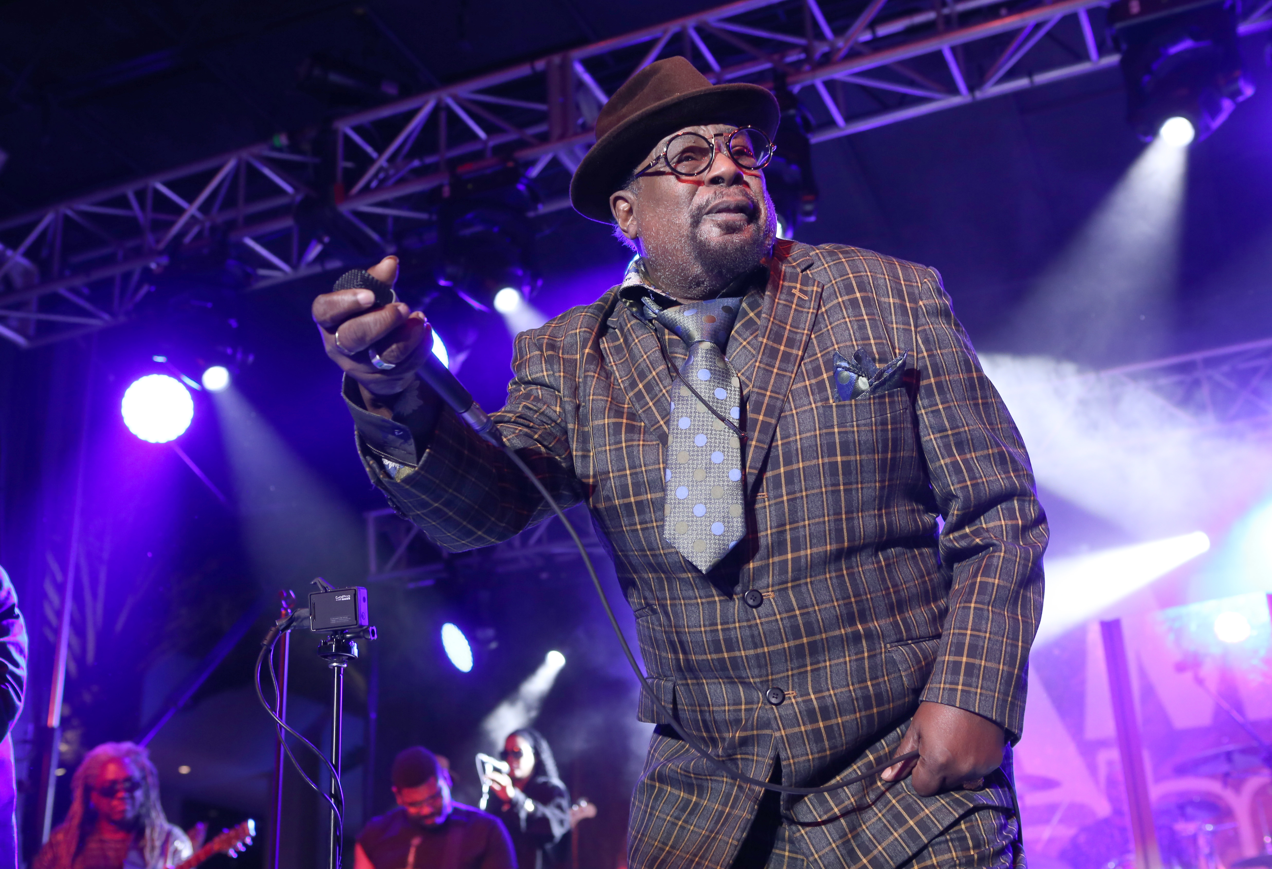 George Clinton and Parliament Funkadelic will be at the University at Buffalo Center for the Arts.  (Getty Images)
