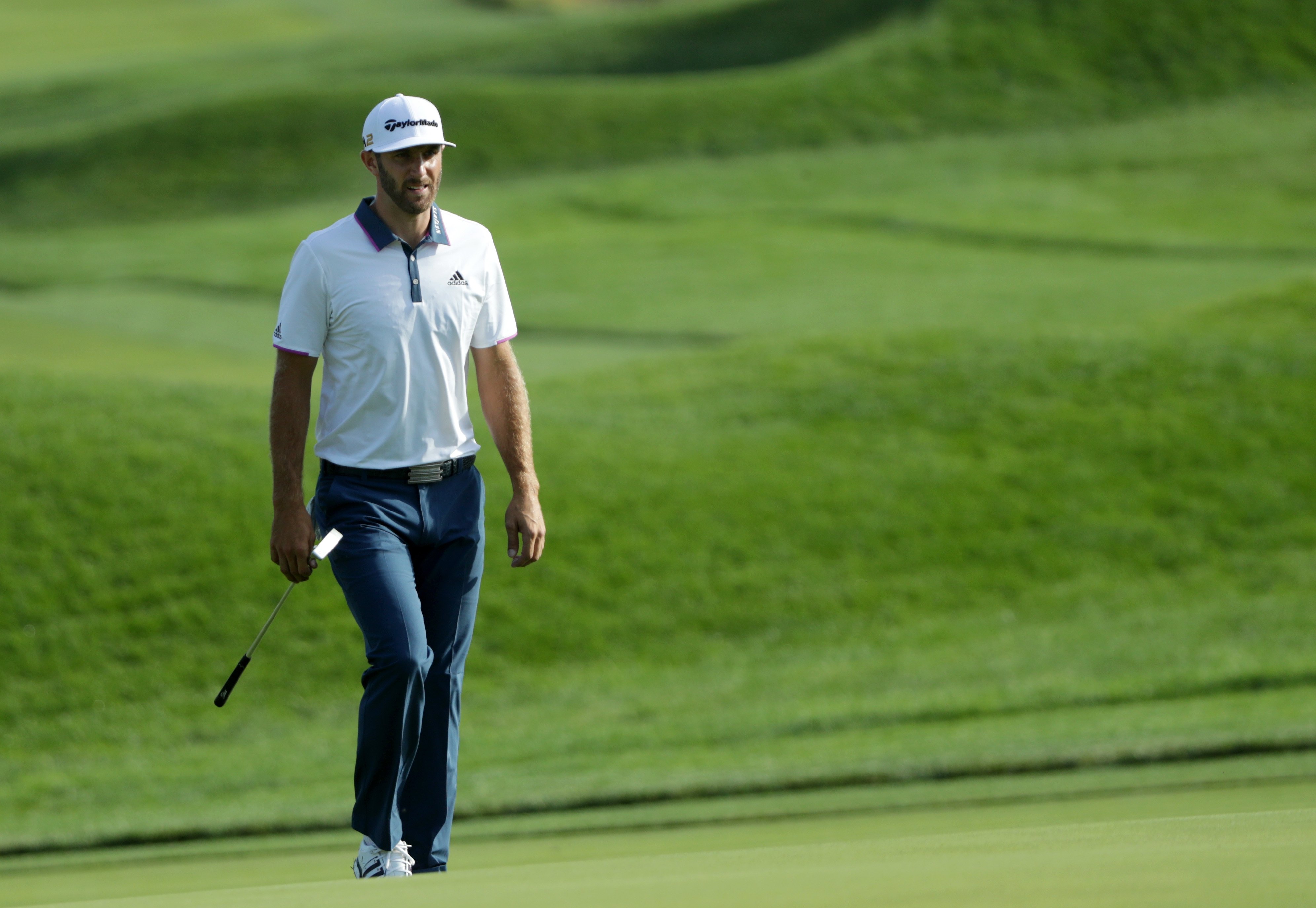 Dustin Johnson is a masher of the golf ball. (Getty Images)