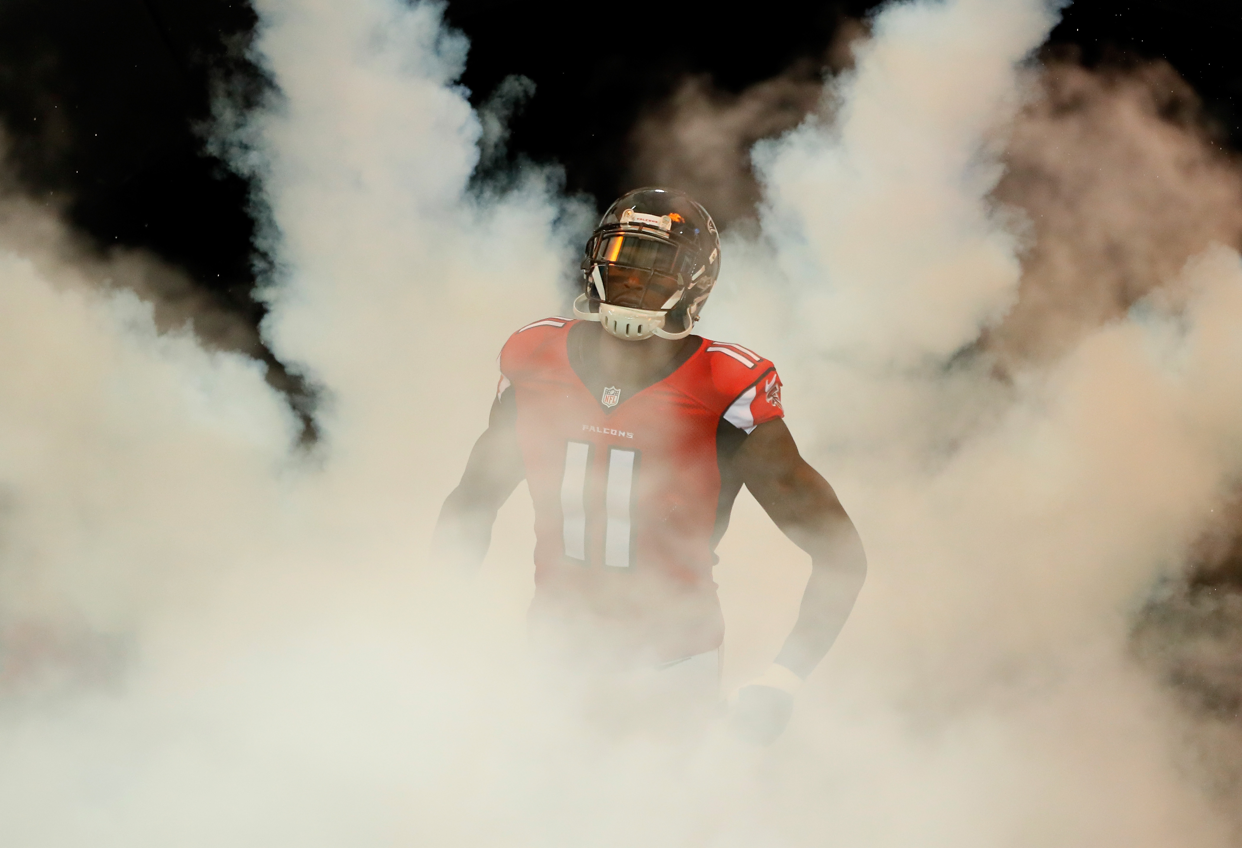 Julio Jones of the Atlanta Falcons is one of the most dangerous offensive players in the NFL.  (Getty Images)