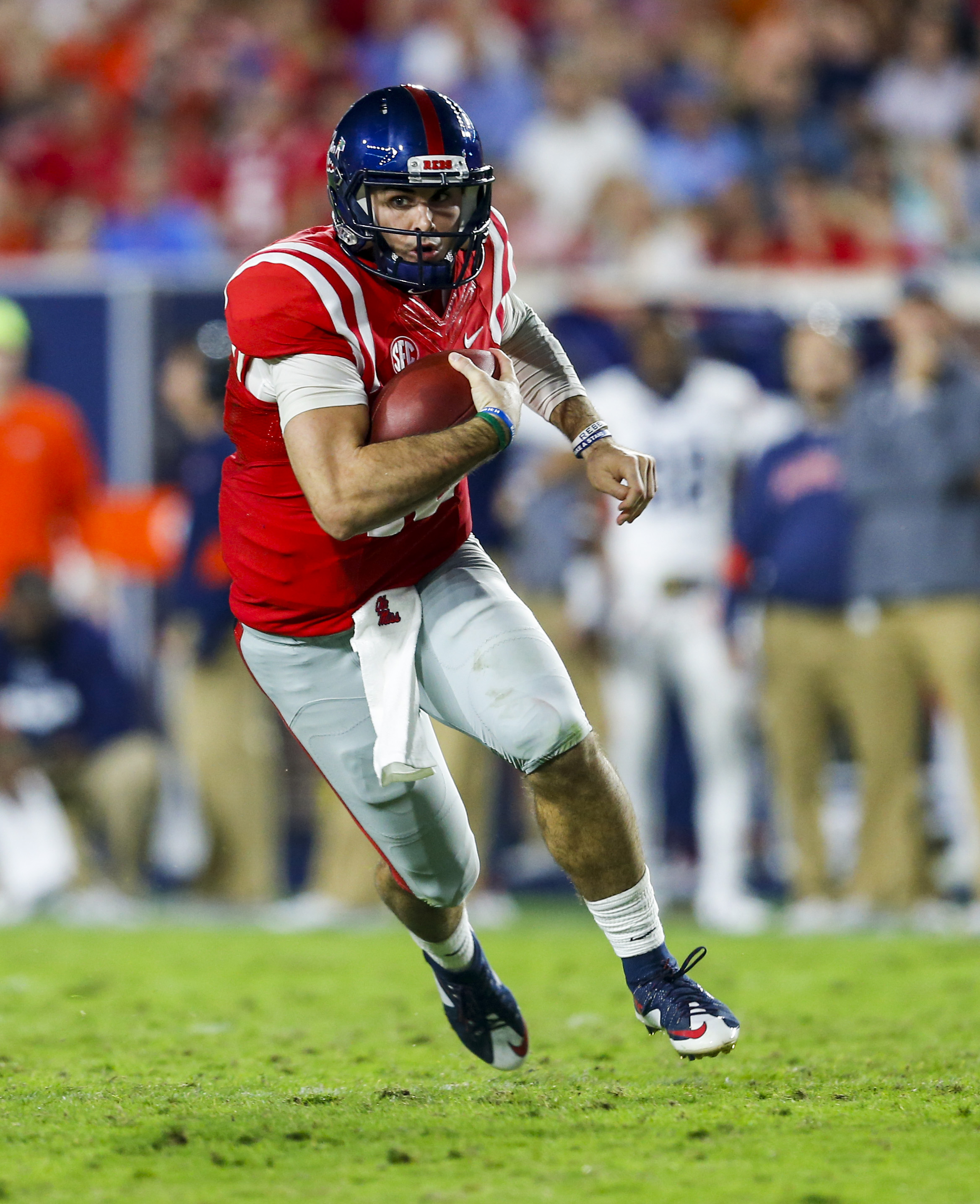 St. Joe's product Chad Kelly reportedly will not attend the NFL Scouting Combine next month. (Getty Images)