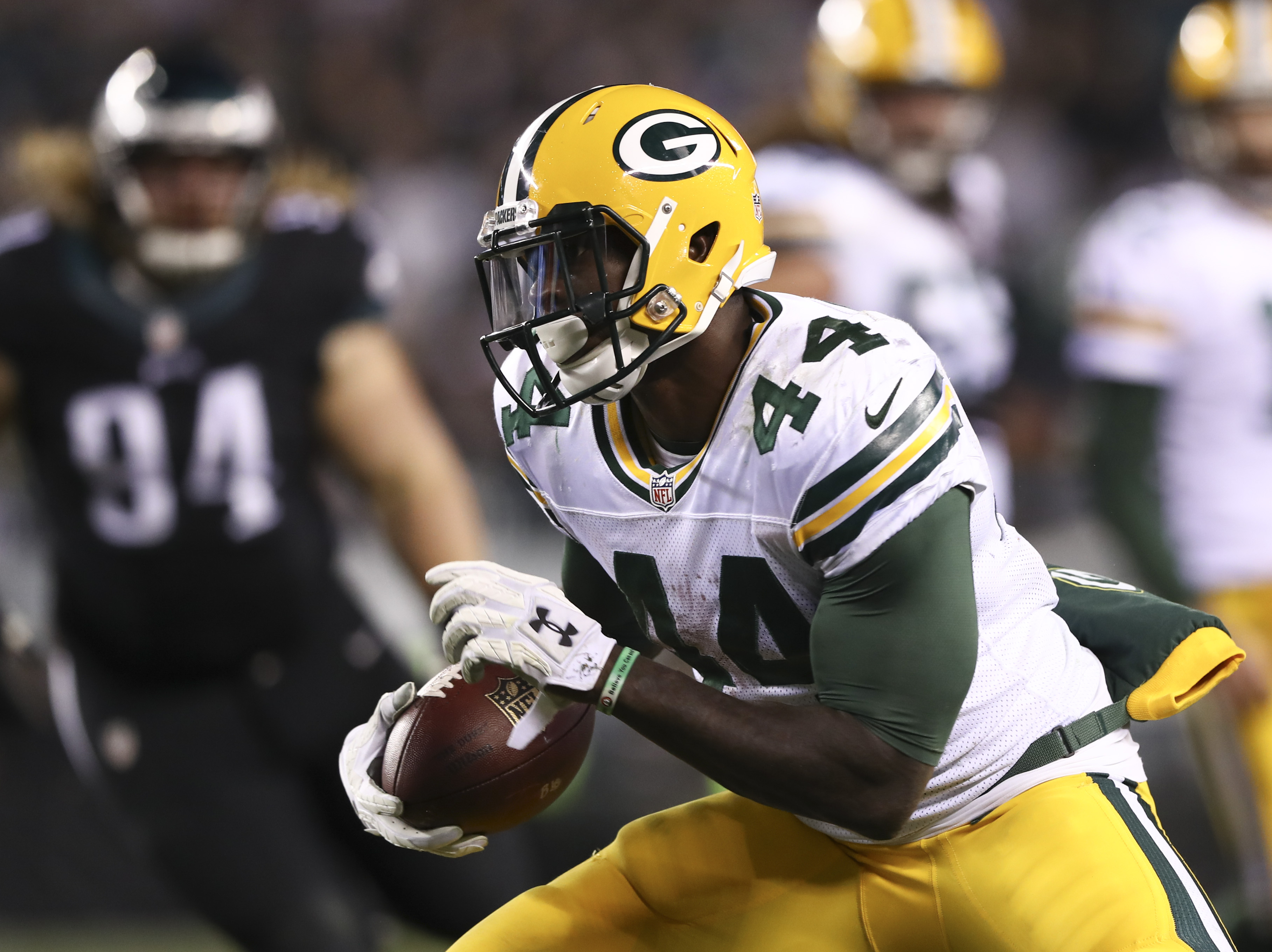 Niagara Falls native James Starks had an injury-plagued 2016 season with the Green Bay Packers. (Getty Images)