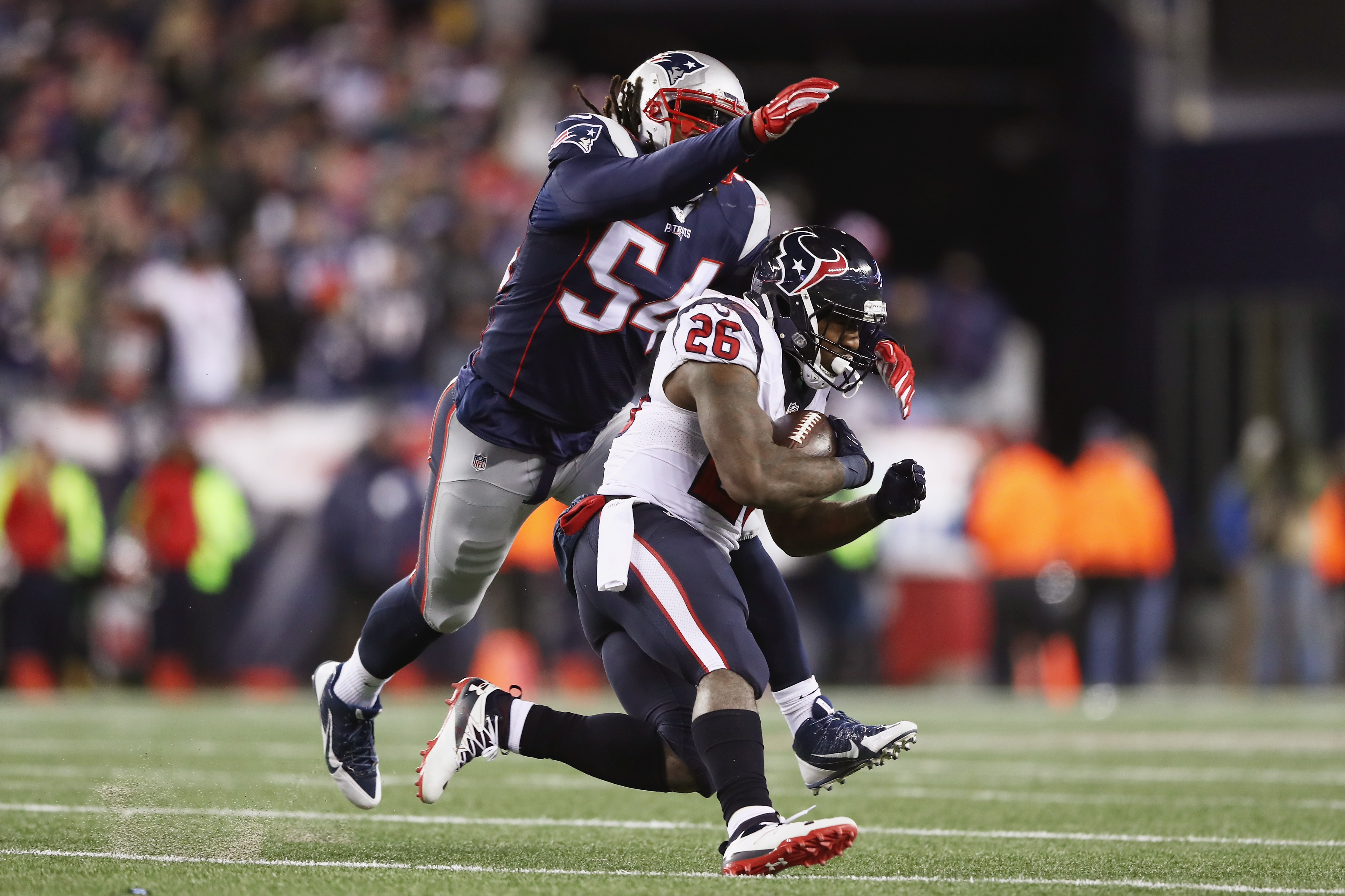 Dont'a Hightower and the New England Patriots defense give up yards - they just don't concede many points.