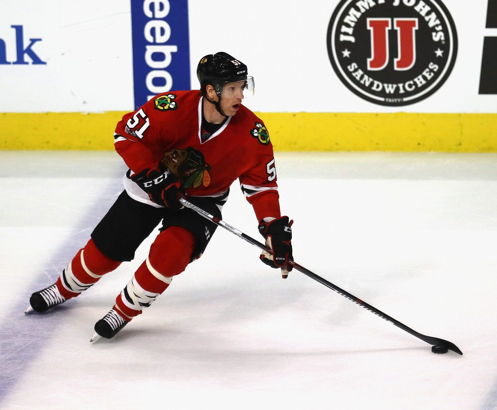 Brian Campbell is the star of the show in Chicago. (Getty Images)