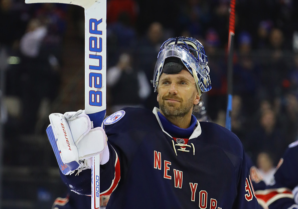 Henrik Lundqvist has been red-hot in February, going 7-1-1 with a 1.85 GAA and .943 save percentage (Getty Images).