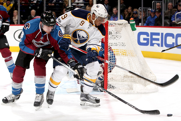 Evander Kane was minus-3 in Saturday's loss at Colorado (Getty Images).