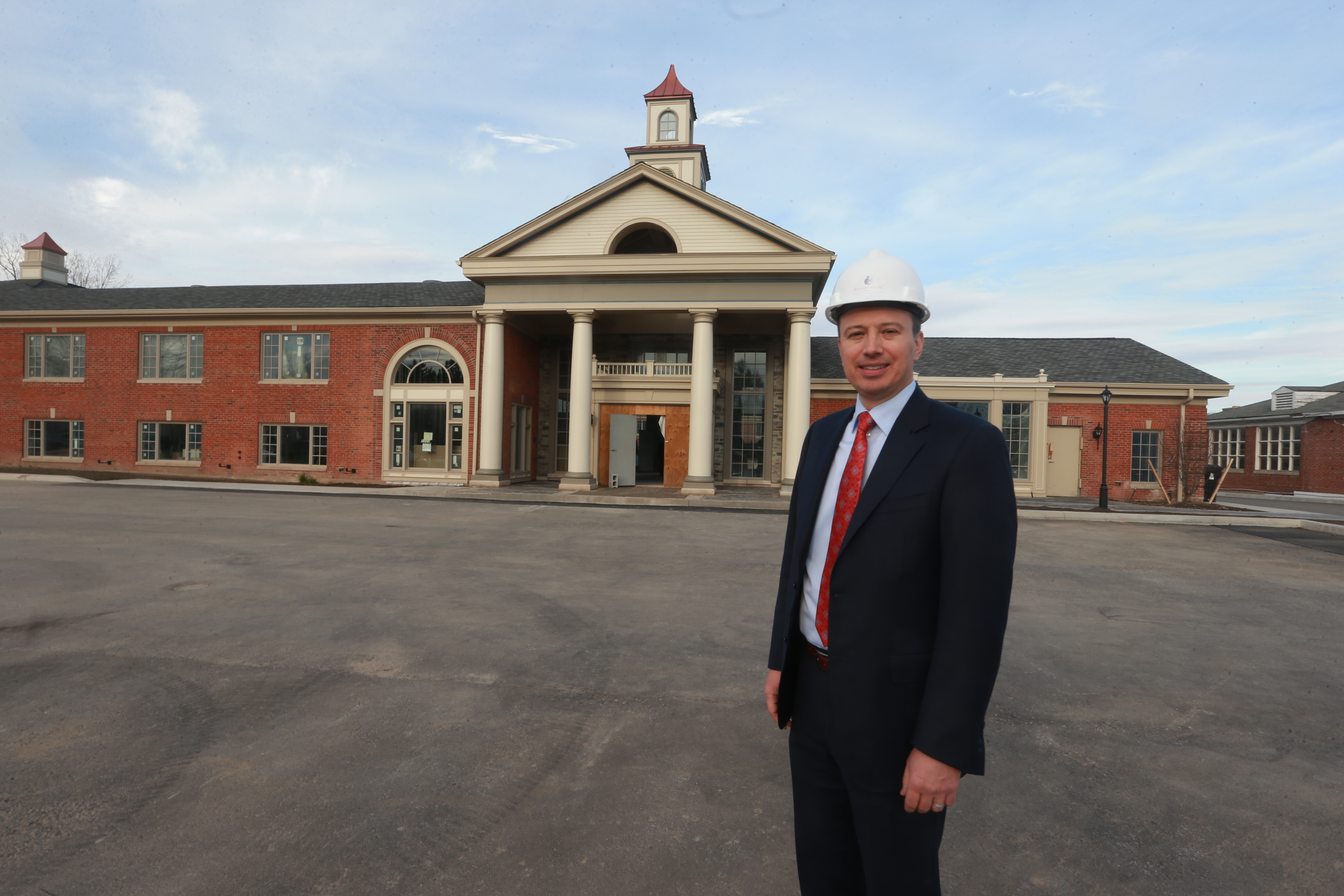 Paul Bohdan Iskalo, president, and CEO of Iskalo Development Corp. at the former Lord Amherst, now Reikart House  Boutique Hotel, in Amherst. The Appellate Division, Fourth Department, is expected to rule soon on the Amherst Industrial Development Agency's appeal of a lower court's ruling on tax breaks sought by Iskalo on the former Lord Amherst project.   (John Hickey/Buffalo News)