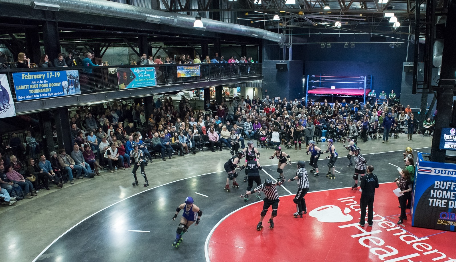 Check out Queen City Roller Girls at Buffalo Riverworks. (Matt Weinberg/Special to The News)