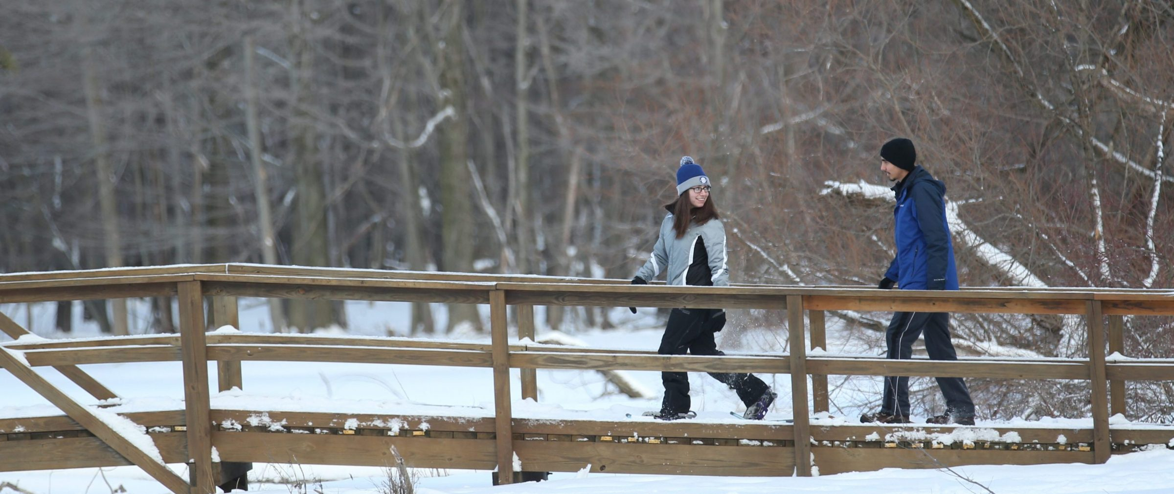 Reinstein Woods Nature Preserve in Depew will host its annual Winter Wonderland on Saturday. (Sharon Cantillon/Buffalo News file photo)