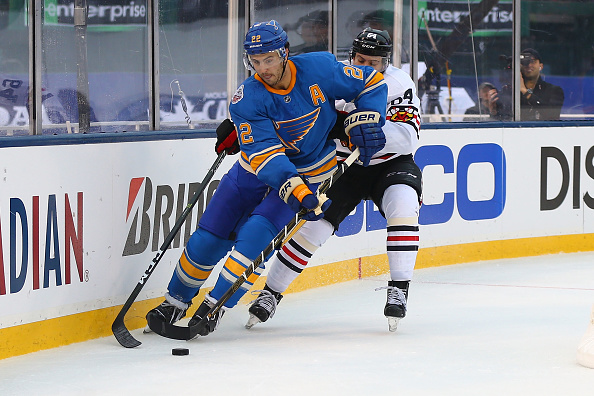 Blues defenseman Kevin Shattenkirk is the pending free agent drawing the most attention as the trade deadline draws near (Getty Images).
