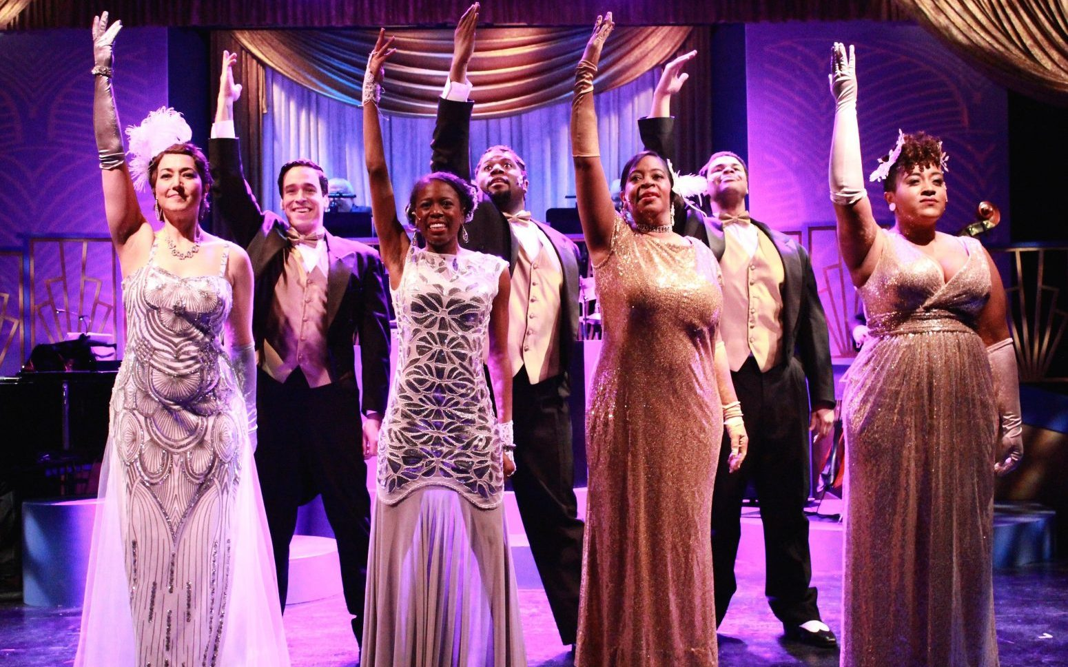 MusicalFare Theatre's production of the Duke Ellington revue 'Sophisticated Ladies' runs through March 5.