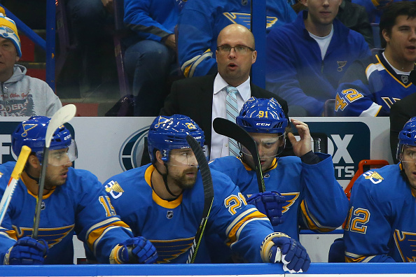 Mike Yeo is off to a quick start after being promoted to the top man on the St. Louis bench (Getty Images).