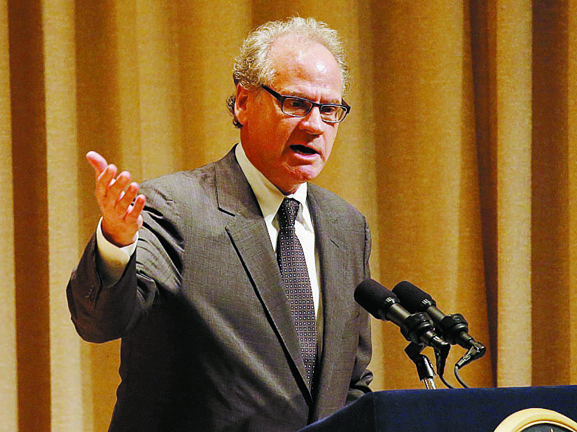 Howard Zemsky is the point man for Gov. Andrew Cuomo's Buffalo Billion program.  (Derek Gee/Buffalo News)