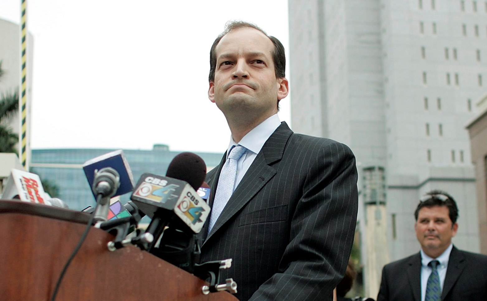 President Trump has nominated Alexander Acosta as his choice for Labor Secretary. (Getty Images)