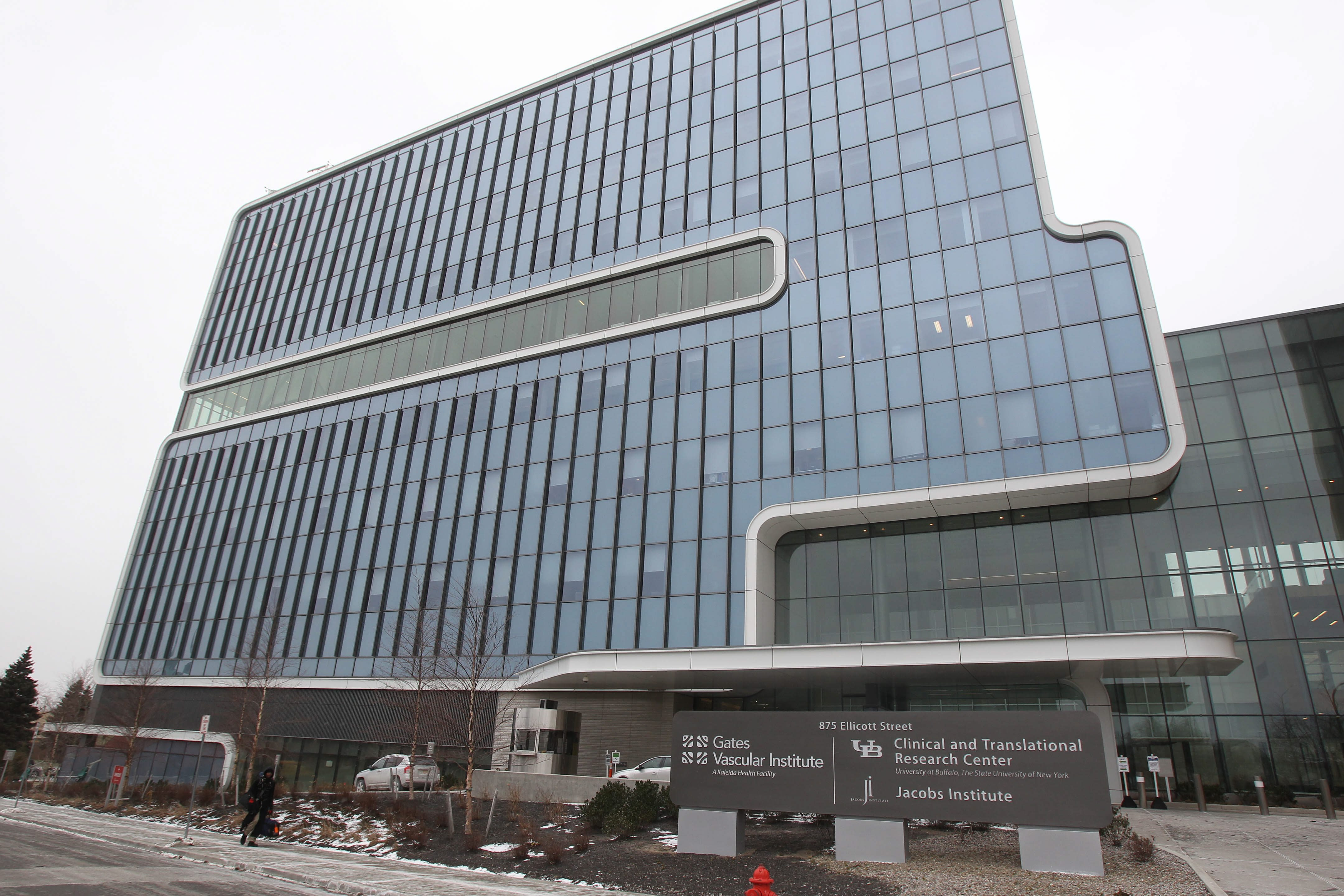 The UB Clinical and Translational Reseach Institute, which recently changed its name, shares a building with the Gates Vascular Institute. (Mark Mulville / Buffalo News file photo)