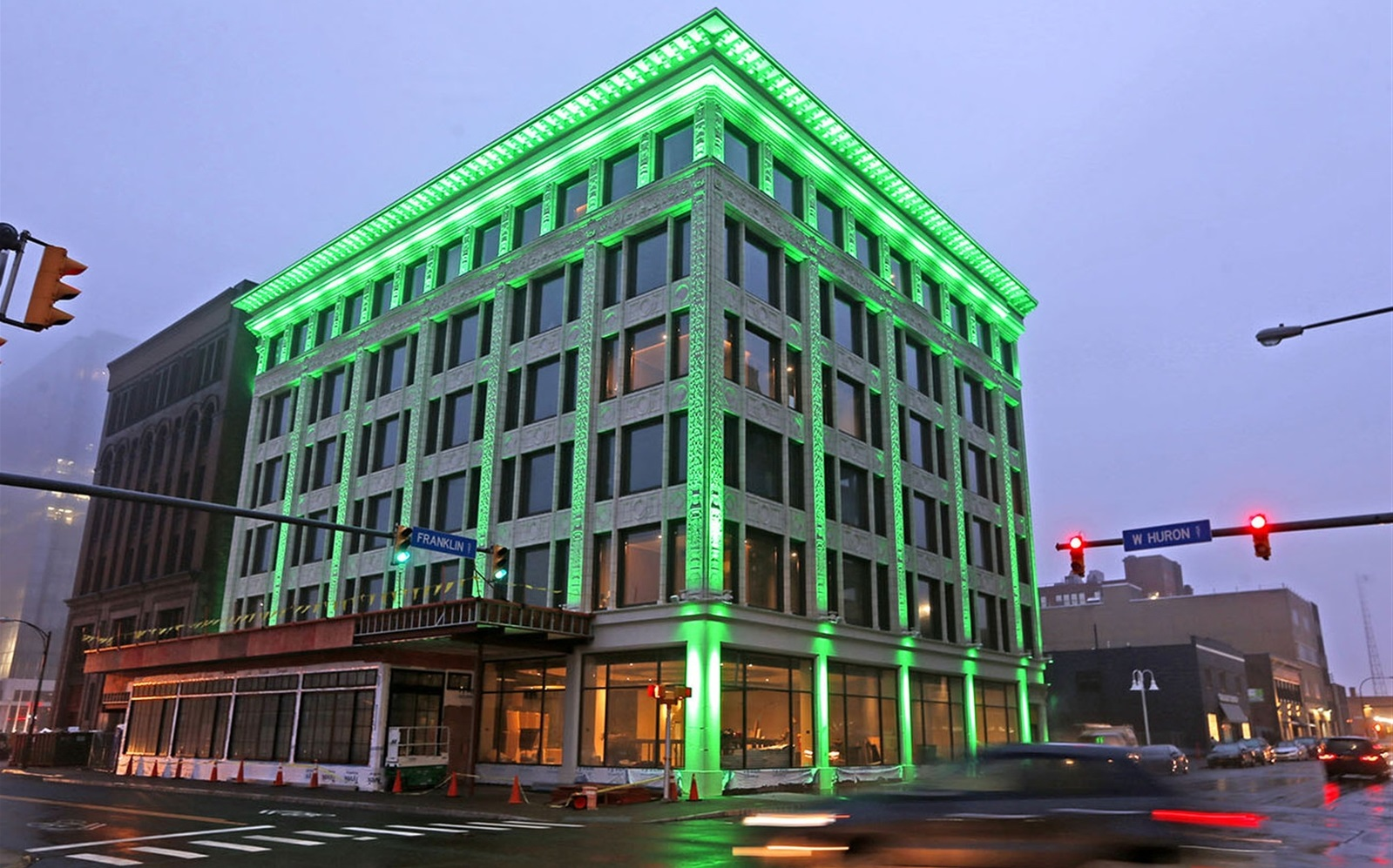 Leisure and hospitality employment has barely increased, despite a wave of new hotel openings, including the Curtiss Hotel in downtown Buffalo. (Robert Kirkham/Buffalo News file photo)