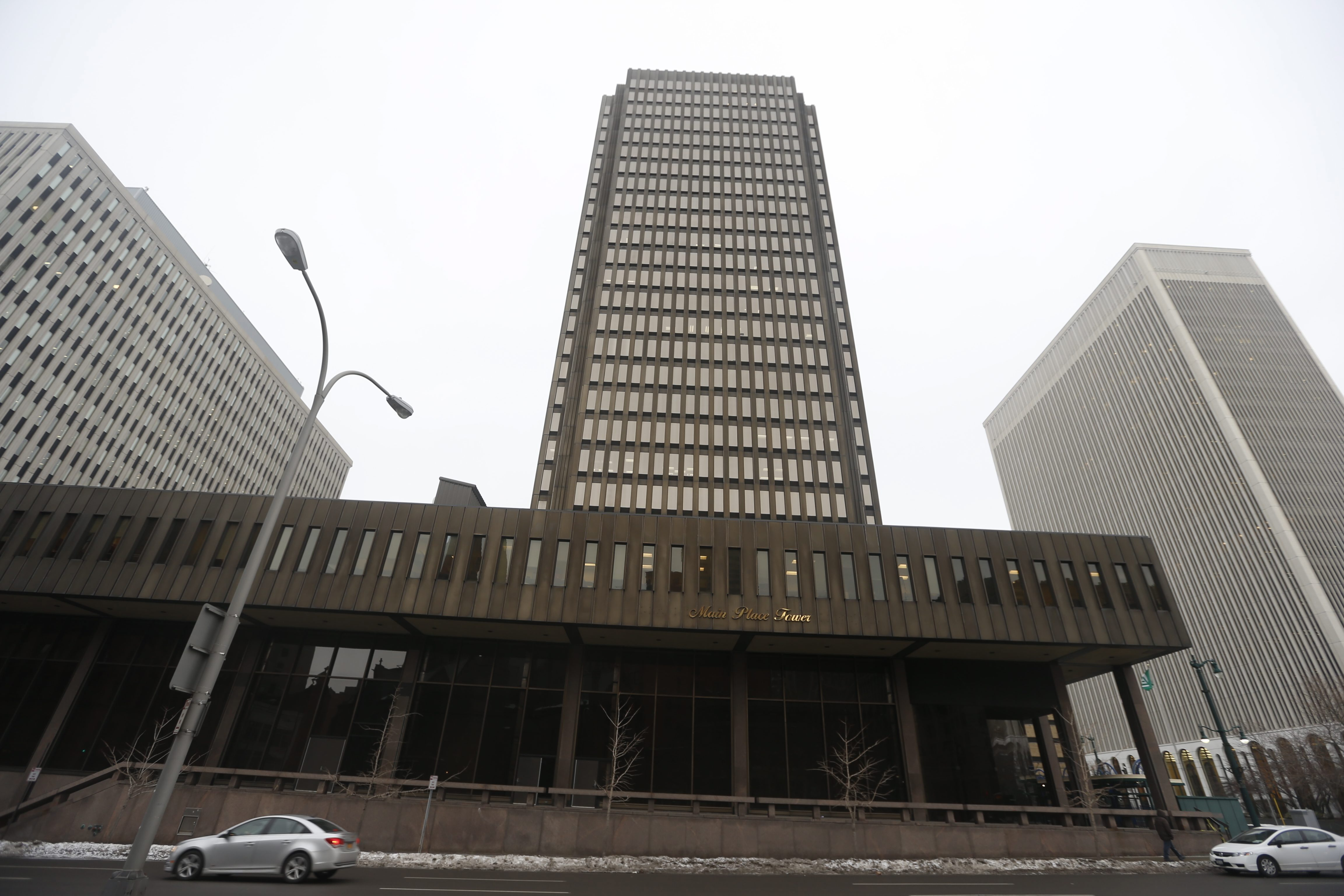 The Main Place Tower will be the site next month for the seventh annual Buffalo Fight for Air Climb. (John Hickey/Buffalo News)