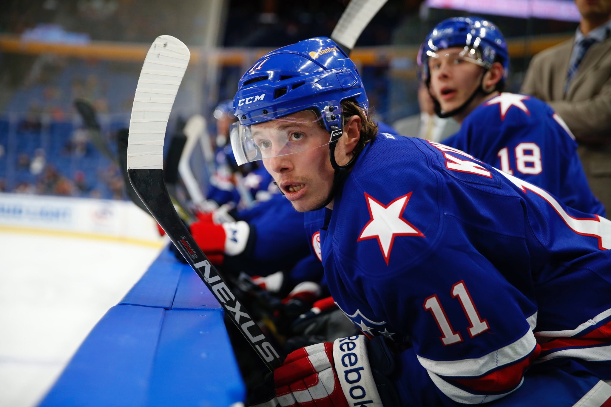 Tim Kennedy has been a veteran presence and point producer for the Amerks. (Harry Scull Jr./Buffalo News)