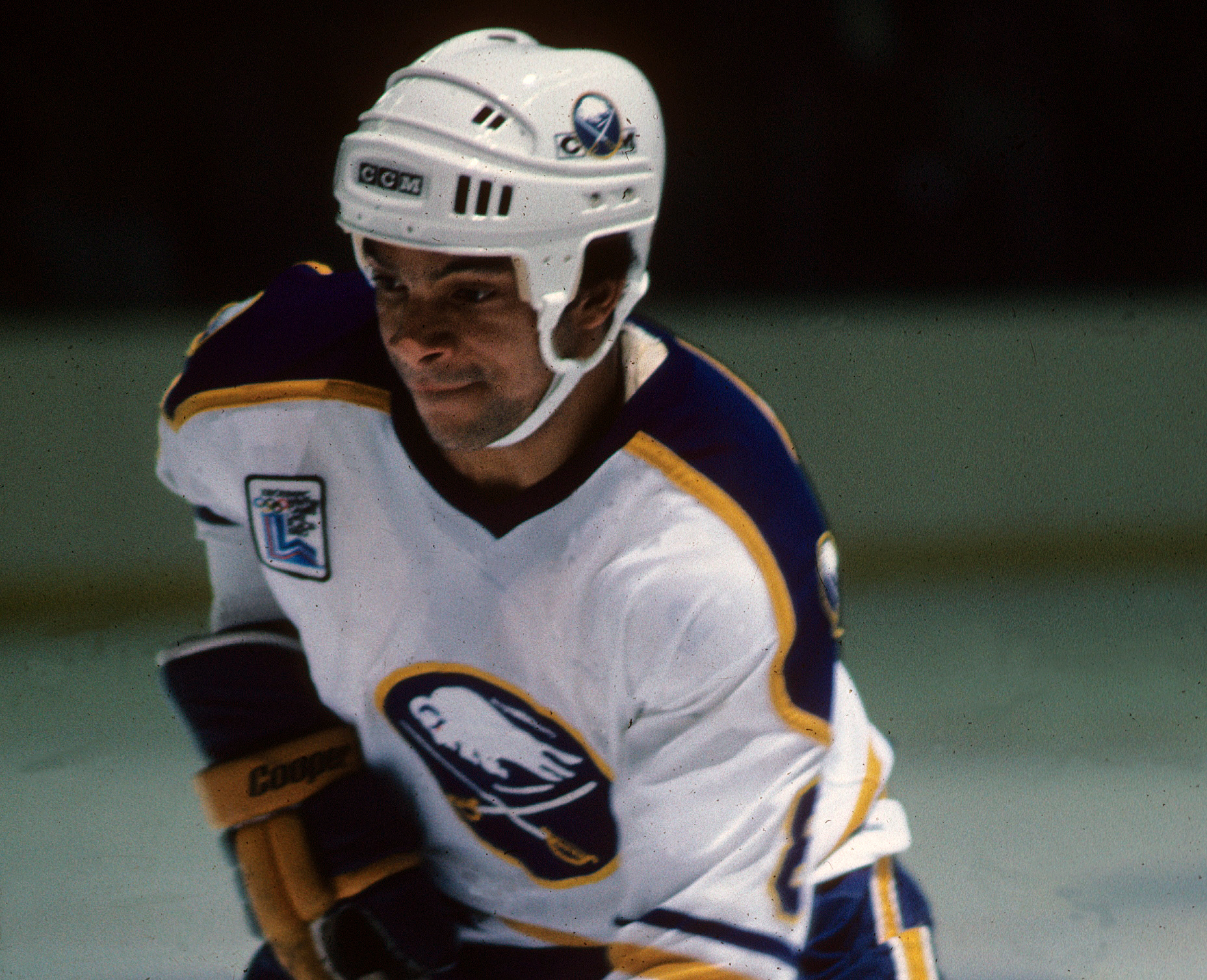 """""""In my journey I was very lucky to go to Buffalo. If I went to some other place, like Atlanta, my experience would have been very different,"""" said McKegney who was drafted by the Sabres in 1978 and played his first four NHL seasons in Buffalo.  Buffalo News file photo)"""