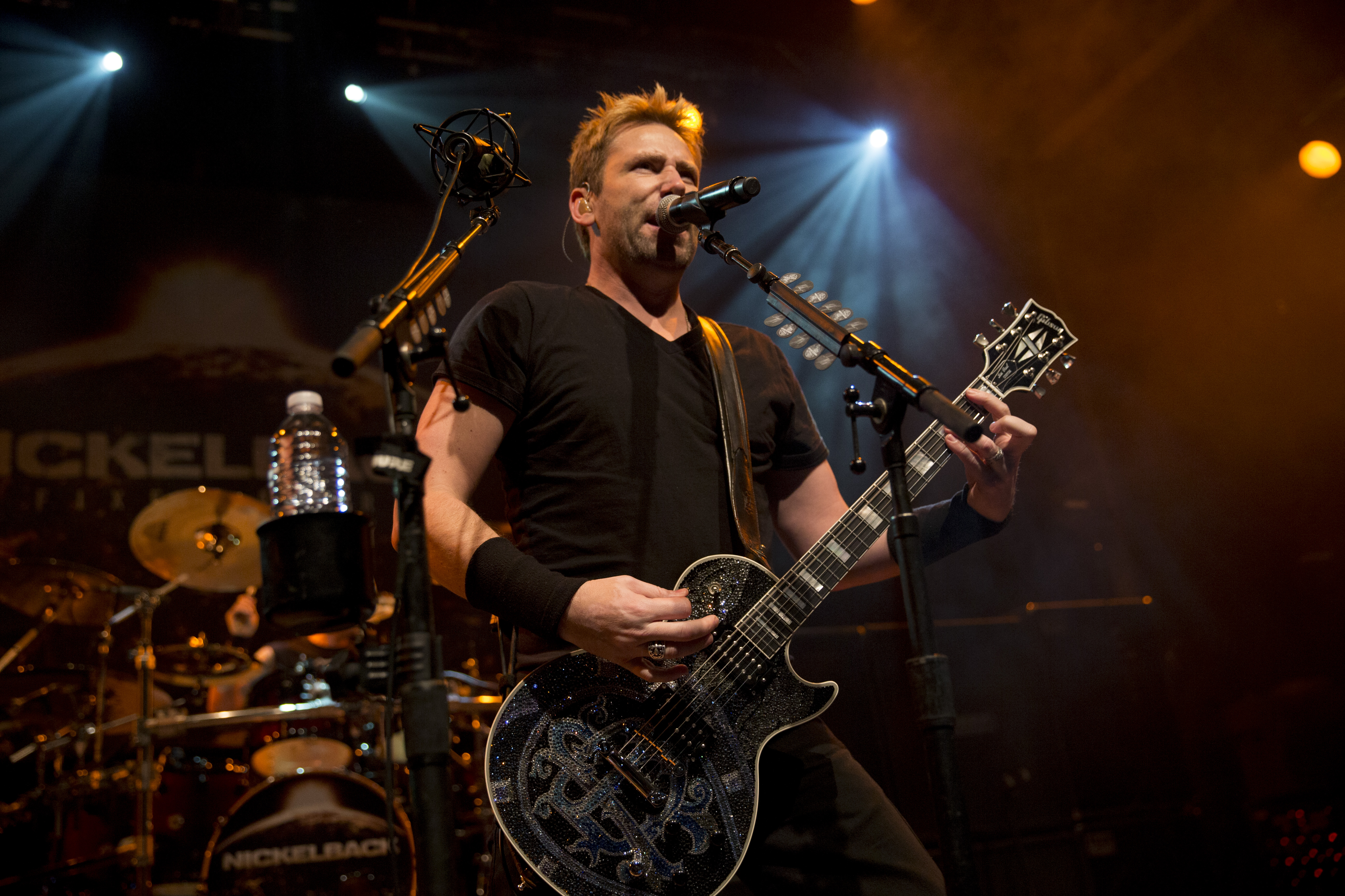 Chad Kroeger and Nickelback return to Darien Lake in 2017.  (Getty Images)