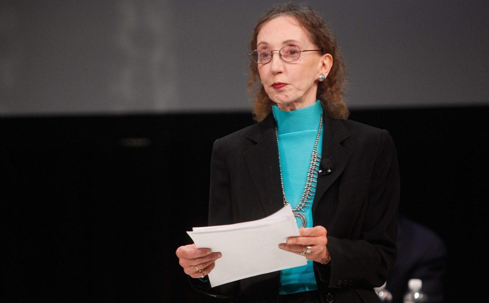 Author Joyce Carol Oates. (Getty Images)