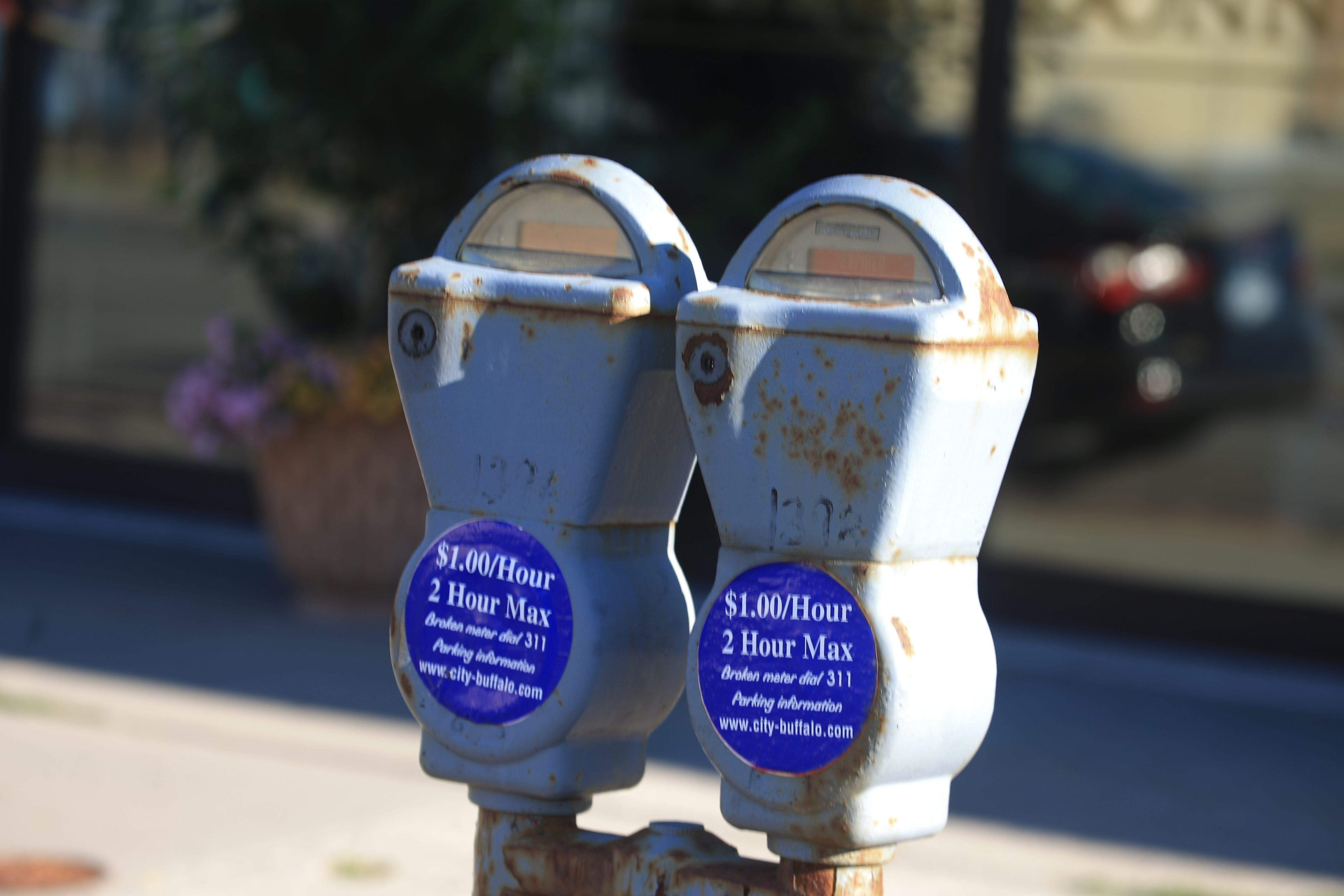 Getting caught parked in front of an expired meter, previously $30, will now cost you $40. (John Hickey/News file photo)
