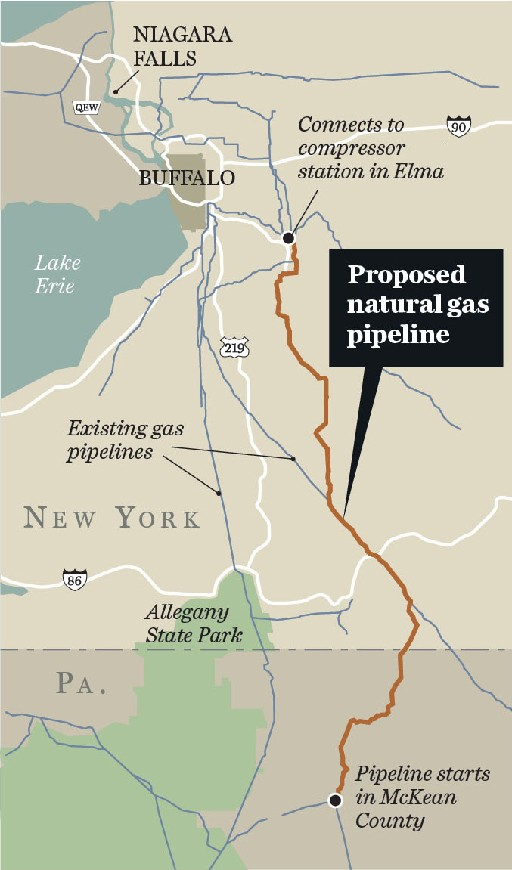 National Fuel pipeline would cut through 192 WNY streams