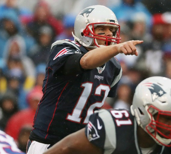 Tom Brady wants to finish his career in New England. (James P. McCoy/Buffalo News)