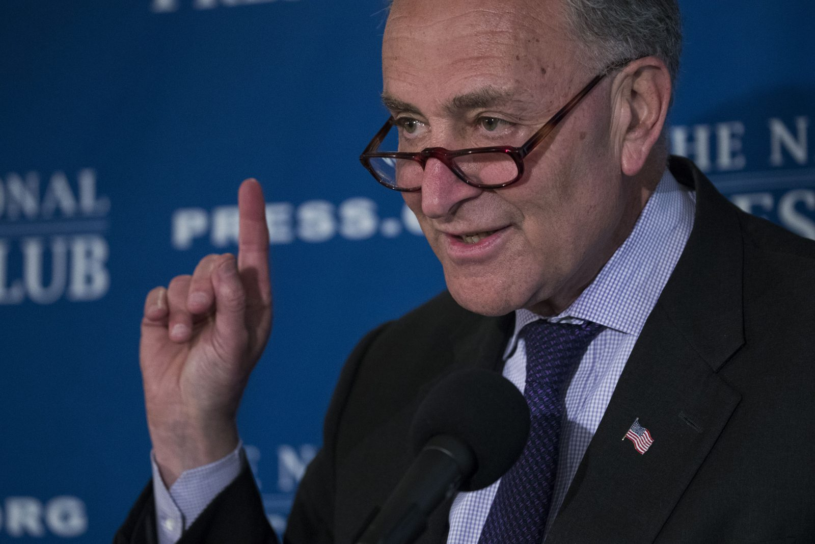 Senate Minority Leader Charles Schumer is attacking the EPA. (New York Times file photo)